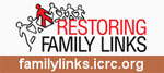 Banner - link to ICRC FamilyLinks website