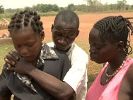 Sudanese girl reunited with her family