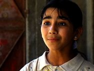 Portrait of Palestinian girl