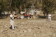 As winter approaches in Khyber Pakhtunkhwa province and the Federally Administrated Tribal Areas, north-west Pakistan, farmers are in a race against time to plough fields and sow seeds before the drop in temperature prevents them germinating.
