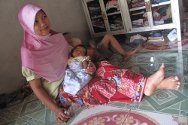 Soraiya Manuad was born just two days before the south's worst floods in decades.