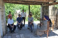 Gaziyan, Terter, Azerbaijan. A family talks about how safer access to water has improved their lives.