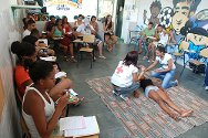 Complexo do Alemão, Rio de Janeiro. The first-aid course is being given in seven areas of Rio where the ICRC operates.