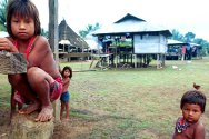 The Embera-Katio people, who live in the south of Córdoba state, in northern Colombia, can no longer cultivate their land, which is littered with unexploded munitions.