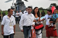 9 February 2011. The ICRC facilitated the liberation of Marcos Baquero, a municipal counsellor.