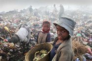 Antananarivo, Madagascar. Life is hard for much of the population.