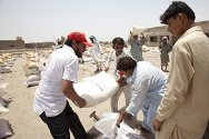 Garhi Khairo, Jacobabad, Pakistan. People in this area are still recovering from the devastating floods of 2010.