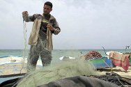 Gazan fishermen have been hard hit by restrictions on the areas in which they are allowed to fish.