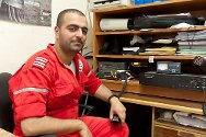Tamman monitors the movement of Syrian Arab Red Crescent ambulances working in Damascus and its suburbs.