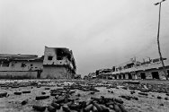 Sirte, Libya. The city in ruins.