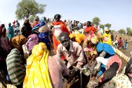 The Jamam refugee camp in Upper Nile State, South Sudan, houses thousands of vulnerable people who fled across the border from their homes in Blue Nile state to escape the fighting. The ICRC built a seven-kilometre water distribution line for the camp.