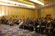 The Health Care in Danger conference was held at one of Sana's main hotels in the presence of high ranking representatives from the Yemen government, national authorities, the military, the police and religious leaders