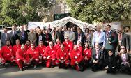 Cairo. Group photo of participants at the closing of the workshop.
