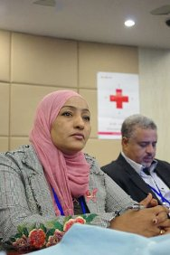 Ms. Asma Kiiojali Yousif, Director of International Cooperation, Sudan Red Crescent Society