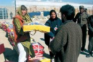 The ICRC provides assistance for detainees in Afghanistan prisons.