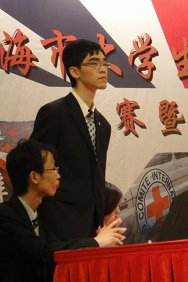 Yang Hao, student of international economics and trade at Tongji University.