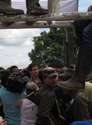 Romeo Langlois was released by the guerrilla FARC-EP in the municipality of La Montañita, a remote hamlet in the department of Caquetá.