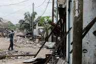 Brazzaville, the Talangai district, hard hit by the explosion. People are trying to resume their everyday lives.