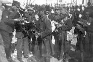 Greece, 1922. Relief distribution.