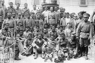 Paraguayan prisoners of war in Quime, Inquisivi province, Bolivia.
