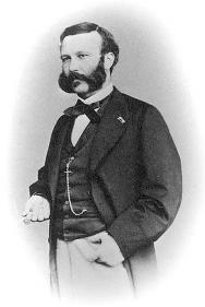 Henry Dunant at the time of the Battle of Solferino.