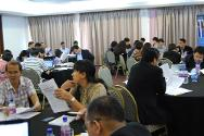 Kuala Lumpur, Malaysia. Participants from 13 nations hard at work on IHL case studies at the South-East and East Asian Teaching Session on IHL.