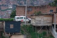People in parts of Medellín are suffering the effects of armed violence. And then there are the invisible frontiers between rival gangs