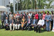 Dar es Salaam, Tanzania. The participants at the seminar on national implementation of IHL pose for a group photo.
