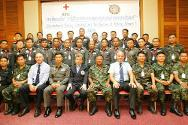 A total of 33 police officers and army observers participated in the third workshop organized by the ICRC together with police in the Deep South. These events are instrumental in helping the armed forces to understand the ICRC's role in situations of violence.