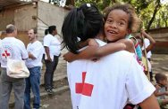 Cidade de Deus, Rio de Janeiro, Brazil. In cooperation with the Brazilian Red Cross, the ICRC held community first-aid courses for residents of the Cidade de Deus favela in August 2009.