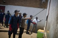 Madagascar. the disinfestation of Antanimora prison will help improve living conditions for the 2,600 people held there.