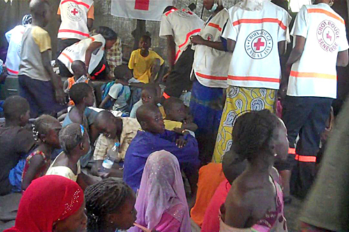 Senegal: helping lost children at the Magal in Touba - ICRC