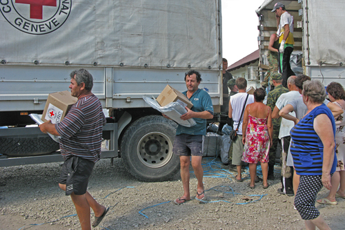 Russia Solidarity With Flood Victims In Krasnodar Krai Icrc