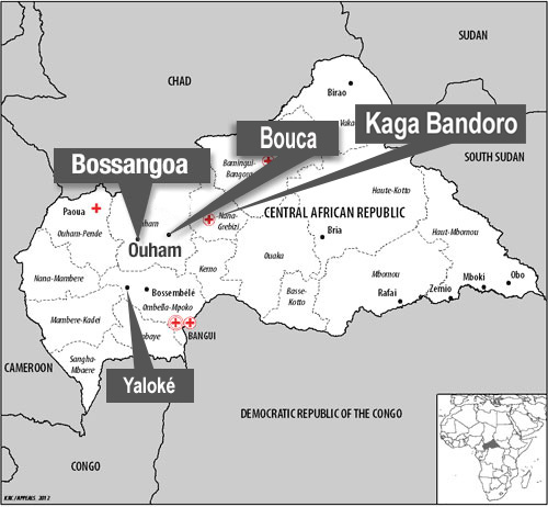Central African Republic Humanitarian situation continues to