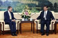 ICRC president Peter Maurer and Chinese president Xi Jinping at recent talks.