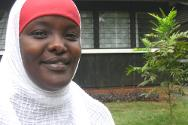 Asha Ismael, head of the ICRC's family links programme in Somalia