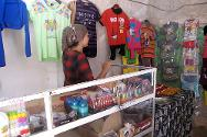 Salwa in her shop