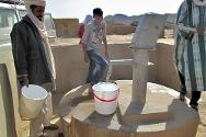 A water fountain installed by the ICRC for the incoming displaced from Gao and Kidal regions.