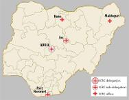 ICRC facilities in Nigeria.