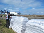 Much-needed aid has reached residents of Guiuan, Mercedes and Salcedo, in south-eastern Samar