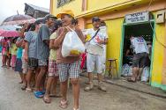 Over 58,000 people from communities along the eastern Samar coast have received food from the ICRC since the typhoon hit.