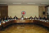 "A session of the ICRC-chaired ""Working Group on persons who are unaccounted for in connection with the events in Kosovo from 1 January 1998 to 31 December 2000."""