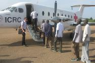 Release of South Sudan detainees by Sudanese authorities in Kadugli, South Kordofan.