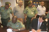 Khartoum. A memorandum of understanding (MoU) was signed in September 2011, concerning cooperation between the ICRC and the Sudanese Armed Forces (SAF) for the integration of international humanitarian law (IHL) in SAF training and rotations.