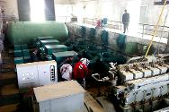 ICRC and SARC engineers inspect Tal Aswad water treatment plant together with the local water boards.