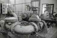 This 1950s water treatment plant in Karbala, Iraq, had not been used for several years. The ICRC eventually renovated it.