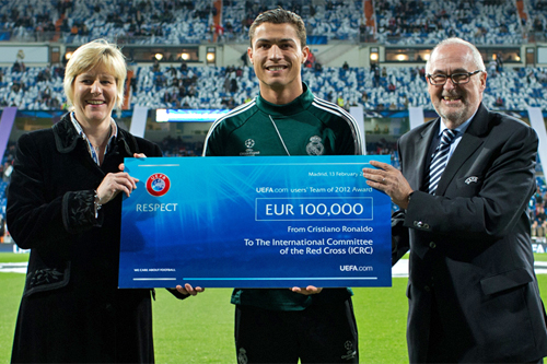 Over 100,000 euros for the Red Cross