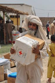 The ICRC allocated one million Swiss francs to support the Pakistan Red Crescent for the first three months in this relief operation.