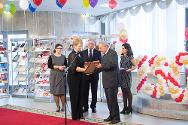 Pascal Cuttat, head of the ICRC regional delegation in the Russian Federation, Belarus and Moldova, takes part in the celebration of the 150th anniversary of the Red Cross.