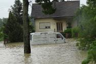 The floods have directly affected close to a million people, a quarter of the country's population.